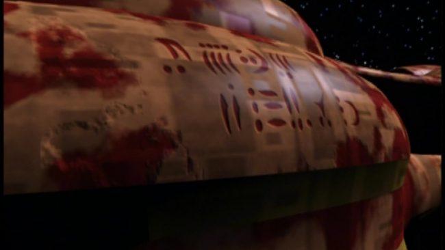 Botschaft am Vorlonenschiff