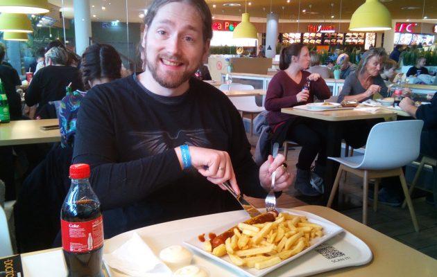 Alex mit der Currywurst